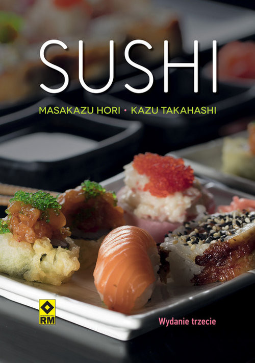 okładka Sushi, Książka |