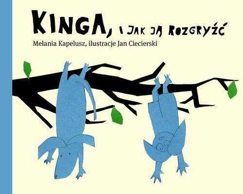 okładka Kinga i jak ją rozgryźć, Książka | Kapelusz Melania