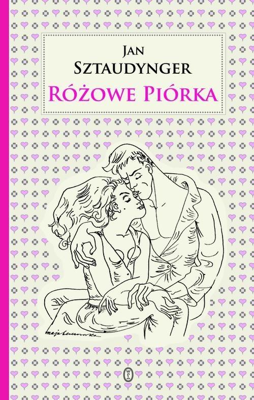 okładka Różowe piórka, Książka   Sztaudynger Jan
