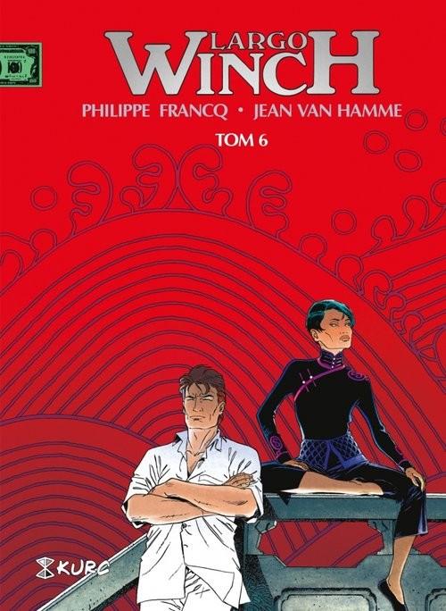 okładka Largo Winch Tom 6 wydanie zbiorcze, Książka | van Hamme Jean, Francq Philippe
