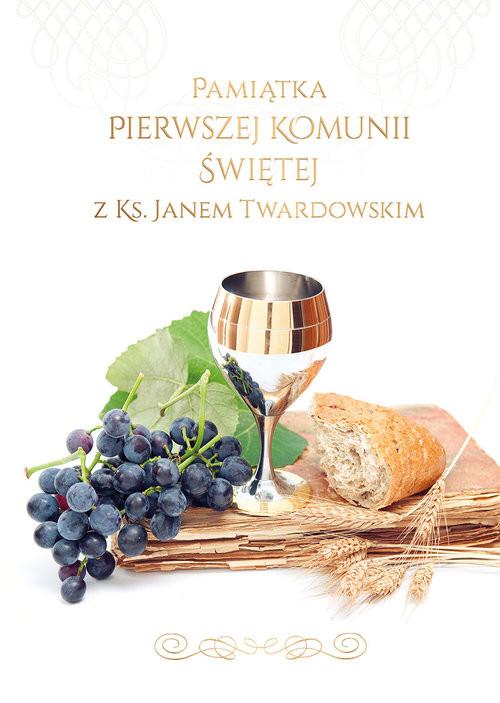 okładka Pamiątka I Komunii Świętej z ks. Janem Twardowskim, Książka | Twardowski Jan
