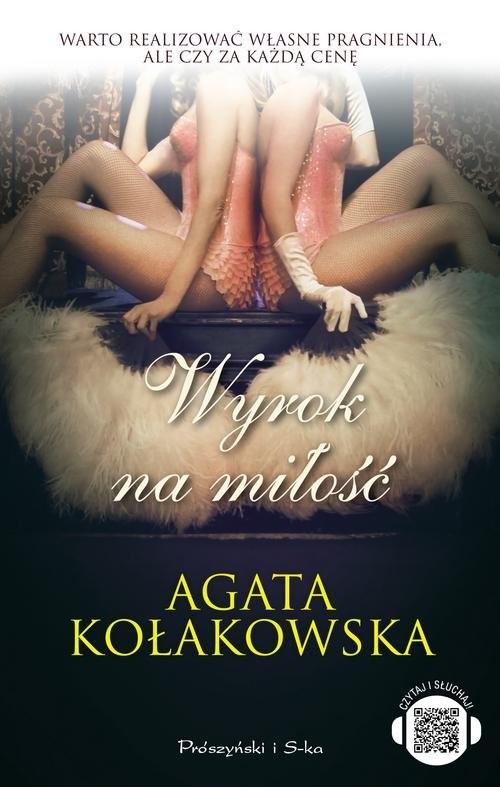 okładka Wyrok na miłość, Książka | Agata Kołakowska