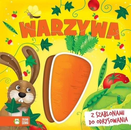 okładka Książki z szablonami Warzywaksiążka |  | Praca Zbiorowa