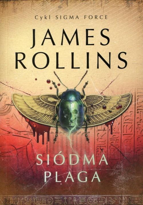 okładka Siódma Plaga Sigma Force 12, Książka | James Rollins
