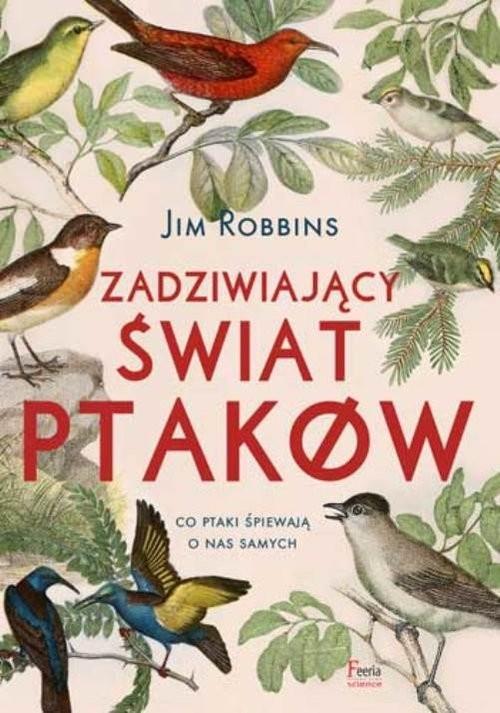 okładka Zadziwiający świat ptaków, Książka | Jim Robbins