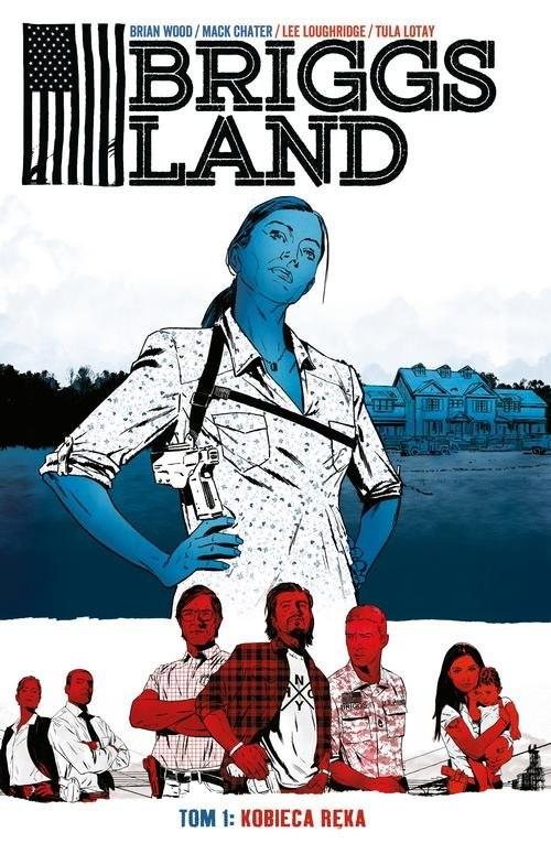 okładka Briggs Land Tom 1 Kobieca ręka, Książka | Wood Brian, Mack Chater