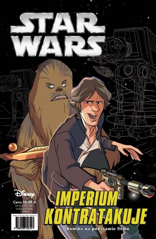 okładka Star Wars 1/2018 Imperium kontratakuje Epizod Vksiążka |  | Alessandro Ferrari, Kawaii Creative Studio ., Praca Zbiorowa