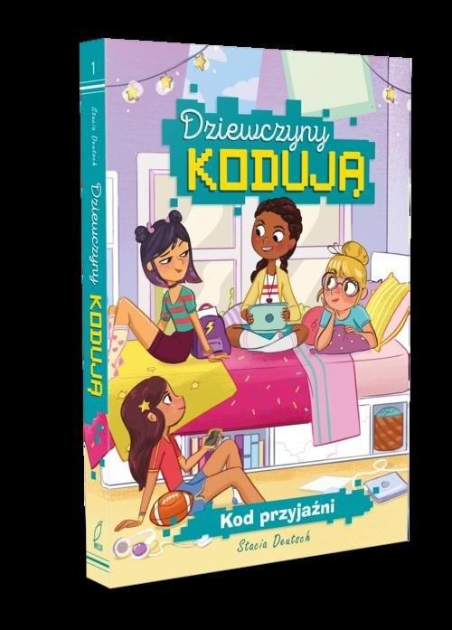 okładka Dziewczyny kodują Kod przyjaźni, Książka | Deutsch Stacia