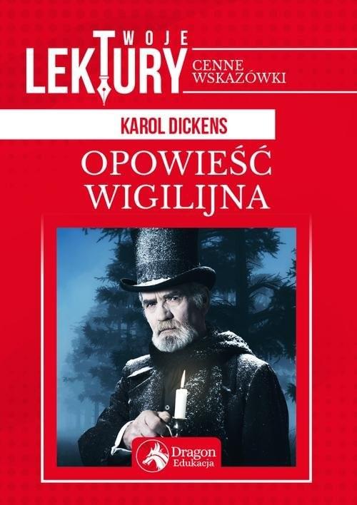 okładka Opowieść wigilijna, Książka | Karol  Dickens