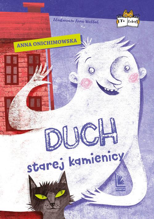 okładka Duch starej kamienicy, Książka | Anna Onichimowska