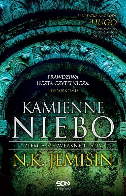 okładka Kamienne niebo Ziemia ma własne plany, Książka | N.K. Jemisin