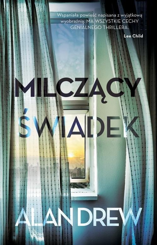 okładka Milczący świadek, Książka | Alan Drew