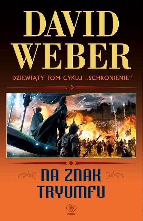okładka Na znak tryumfu, Książka | Weber David