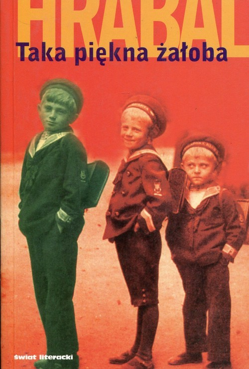 okładka Taka piękna żałoba, Książka | Bohumil Hrabal