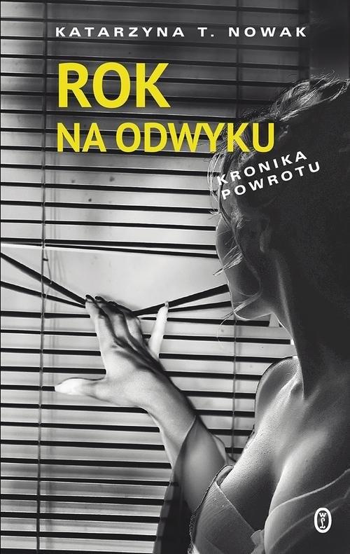 okładka Rok na odwyku Kronika powrotu, Książka | Katarzyna T.  Nowak
