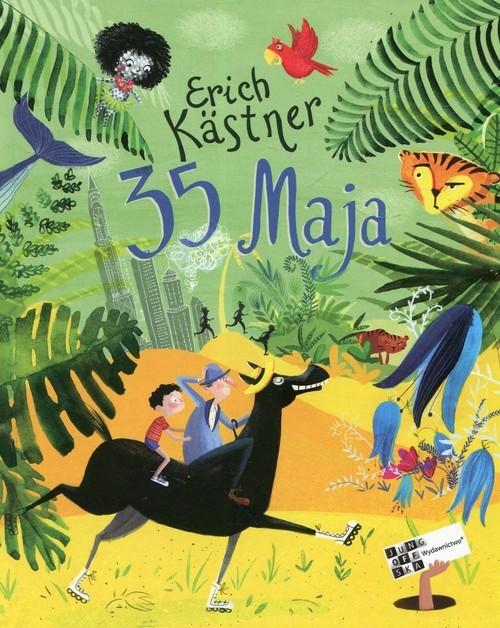 okładka 35 maja, Książka | Kastner Erich