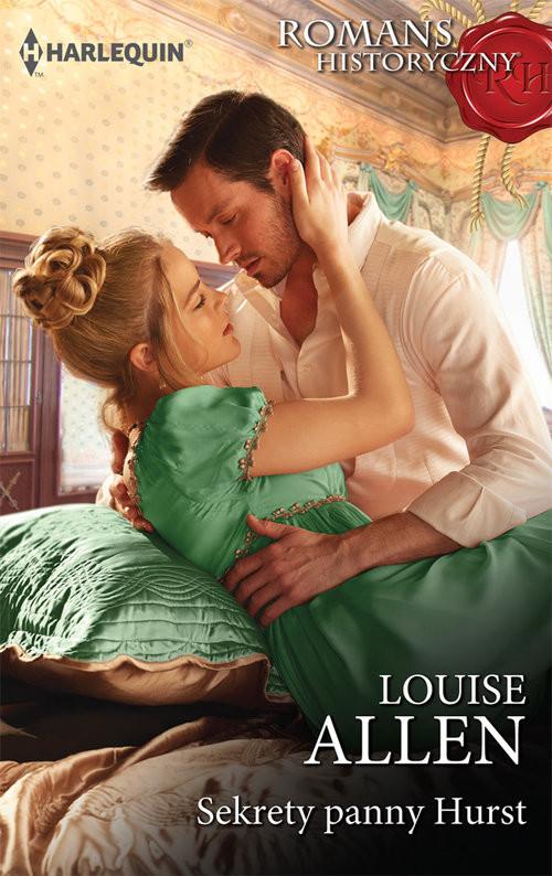okładka Sekrety panny Hurst, Książka | Louise Allen