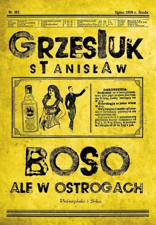 okładka Boso, ale w ostrogachksiążka      Grzesiuk Stanisław