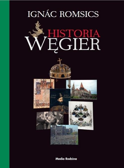 okładka Historia Węgier, Książka   Romsics Ignác