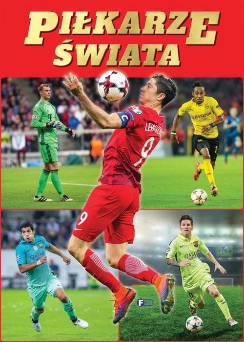okładka Piłkarze świata, Książka  