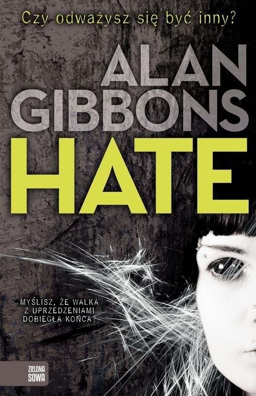 okładka Hate, Książka | Gibbons Alan