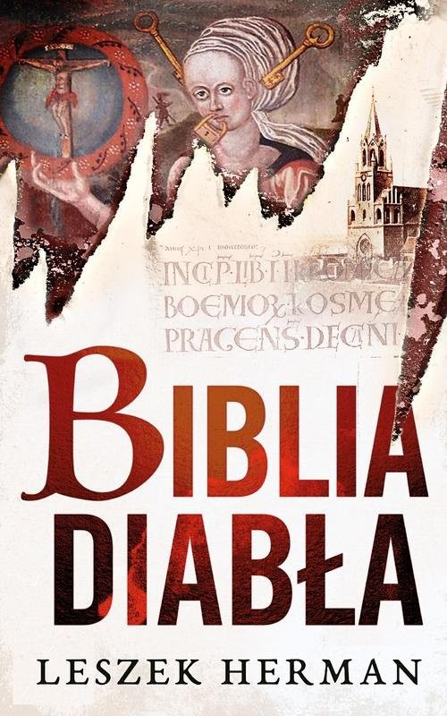 okładka Biblia diabłaksiążka      Herman Leszek