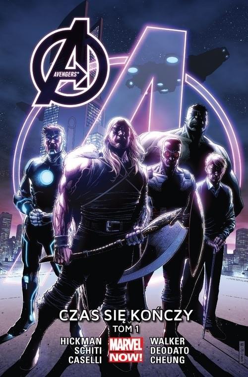 okładka Avengers: Czas się kończy Tom 1, Książka | Jonathan Hickman, Mike Deodato, Stefa Caselli