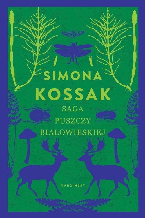 okładka eko Saga Puszczy Białowieskiejksiążka      Simona Kossak