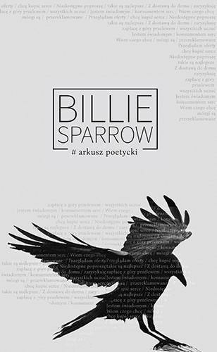 okładka Arkusz poetycki, Książka | Sparrow / Weronika Szymańska Billie