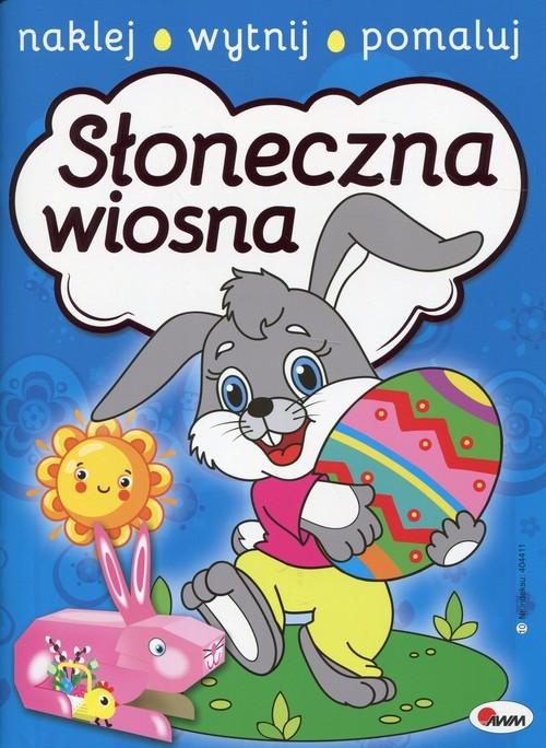 okładka Słoneczna wiosna, Książka   Miłoszewski Leszek