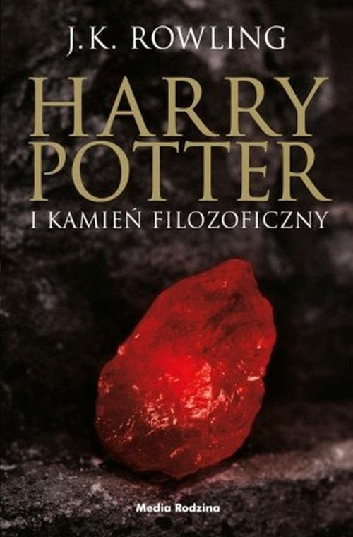 okładka Harry Potter i kamień filozoficzny, Książka | Joanne K. Rowling