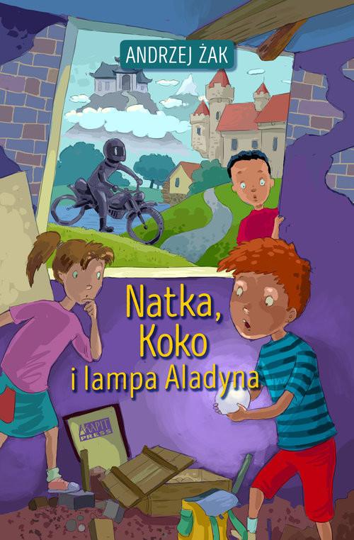 okładka Natka Koko i lampa Aladyna, Książka | Andrzej Żak