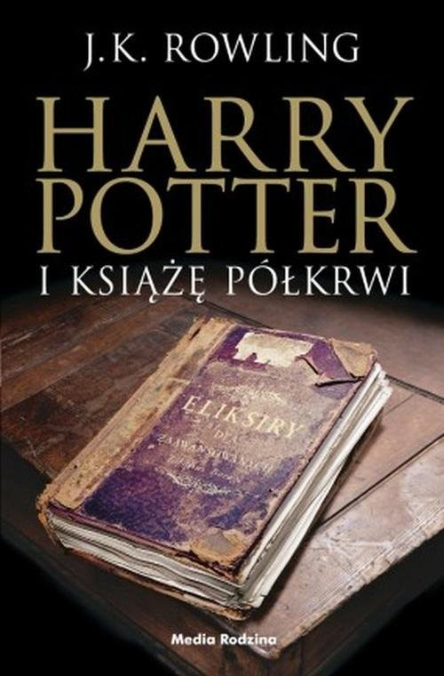 okładka Harry Potter i Książę Półkrwiksiążka      Joanne K. Rowling