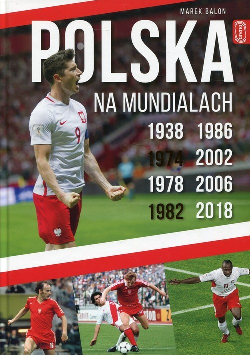 okładka Polska na Mundialach, Książka | Balon Marek