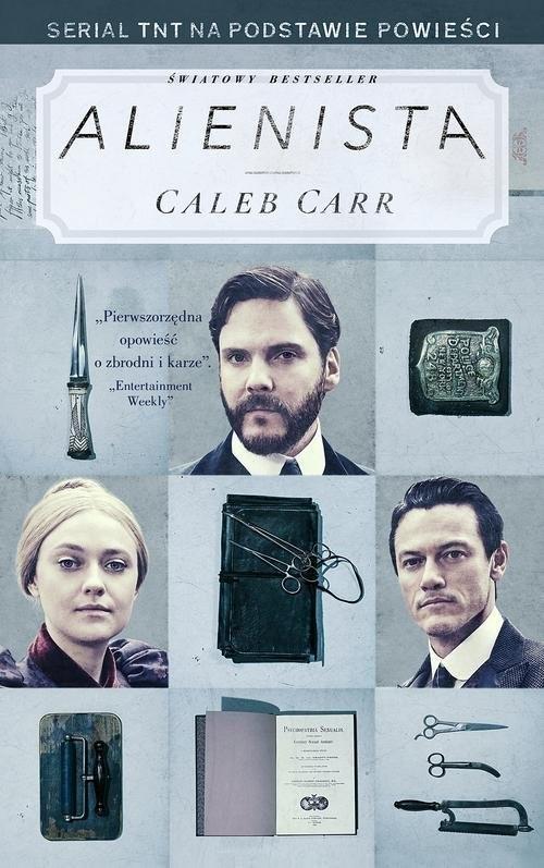 okładka Alienista, Książka | Carr Caleb