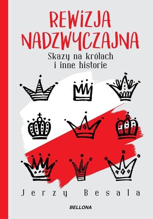 okładka Rewizja nadzwyczajna. Skazy na królach i inne historieksiążka      Jerzy Besala