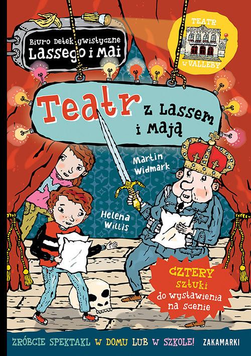 okładka Teatr z Lassem i Mają, Książka | Widmark Martin
