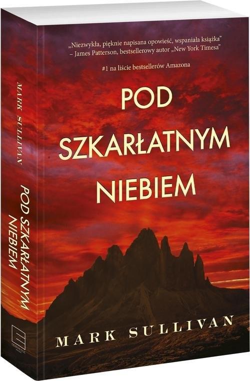 okładka Pod szkarłatnym niebem, Książka | Sullivan Mark