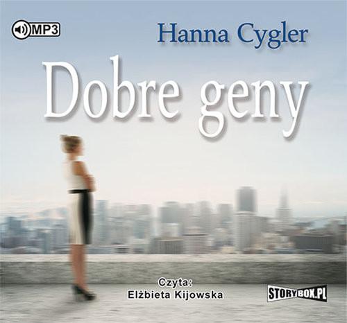 okładka Dobre geny, Książka | Cygler Hanna