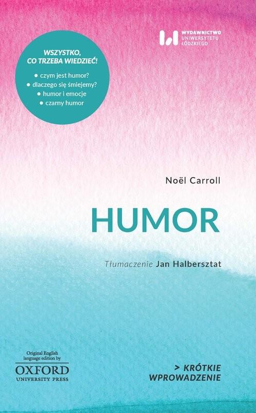 okładka Humor, Książka | Carroll Noël