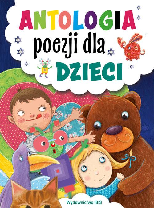 okładka Antologia poezji dla dzieci, Książka |