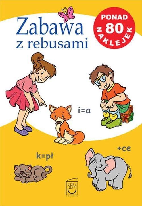 okładka Zabawa z rebusami, Książka | Czarkowska Iwona
