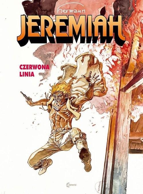 okładka Jeremiah 16 Czerwona Linia, Książka | Hermann Huppen