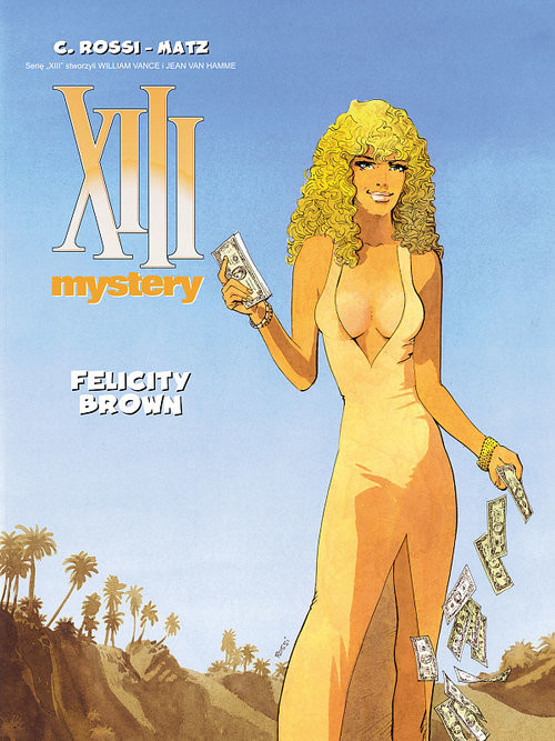okładka XIII Mystery 9 Felicity Brown, Książka | Matz