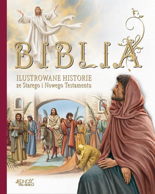 okładka Biblia Ilustrowane historie ze Starego i Nowego Testamentu, Książka | Malvina Miklos, Marian Katalin, Donsz Judit, praca zbiorowa