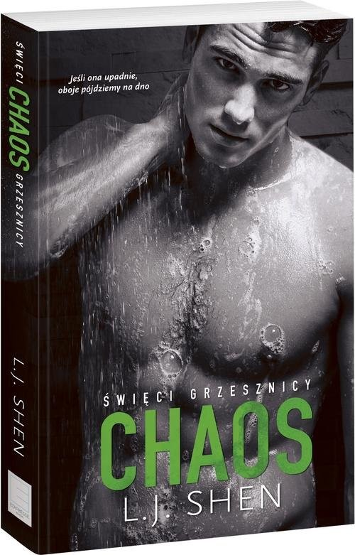 okładka Święci grzesznicy Chaos, Książka | L.J. Shen