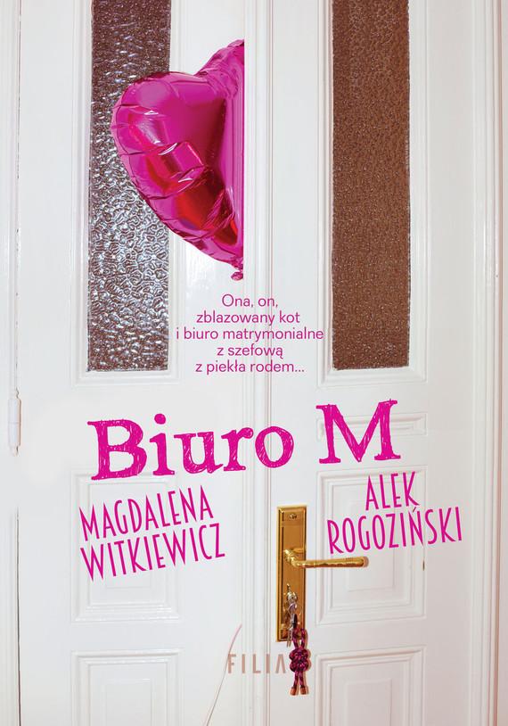 okładka Biuro Mksiążka |  | Magdalena Witkiewicz, Alek Rogoziński