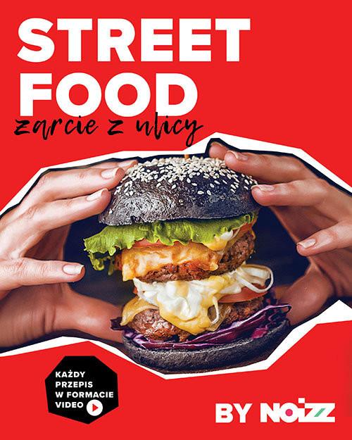 okładka Street food Żarcie z ulicy, Książka |