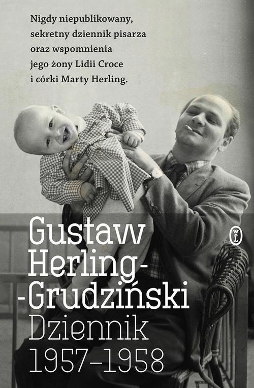 okładka Dziennik 1957-1958, Książka | Herling-Grudziński Gustaw
