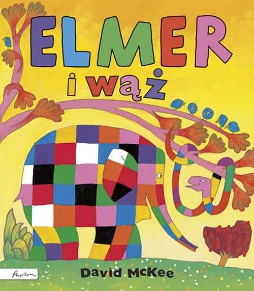 okładka Elmer i wąż, Książka | McKee David